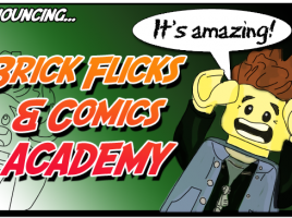 Eurobricks Brick Flicks & Comics Academy (Illustration by Mark Larson)