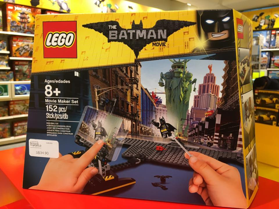 Found Movie Lego Batman Set Maker Y6gyf7bv vNn8m0w
